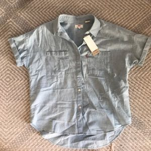 Levi's collared shirt